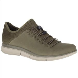 NIB Merrell Zoe Sojourn Lace Leather Q2 sneakers